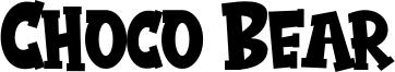 Choco Bear Font