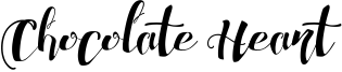 Chocolate Heart Font