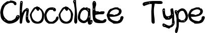 Chocolate Type Font