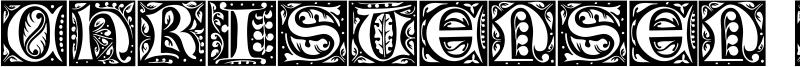 Christensen Caps Font