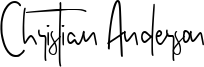 Christian Anderson Font