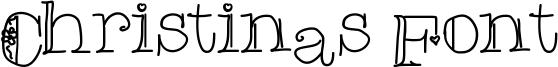 Christinas Font Font
