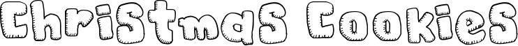 Christmas Cookies Font