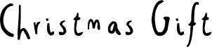 Christmas Gift Font