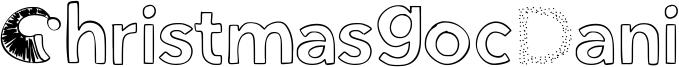 ChristmasgocDani Font