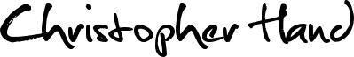 Christopher Hand Font