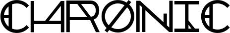 Chronic Font