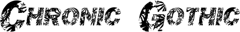 Chronic Gothic Font