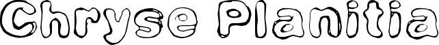 Chryse Planitia Font