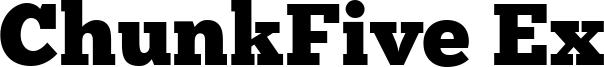 ChunkFive Ex Font