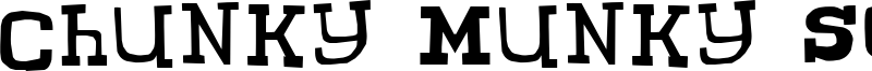 Chunky Munky Serif Font