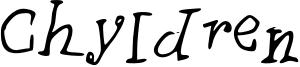 Chyldren Font