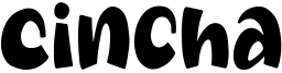 Cincha Font
