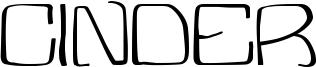 Cinder Font