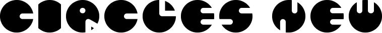 Circles New Font