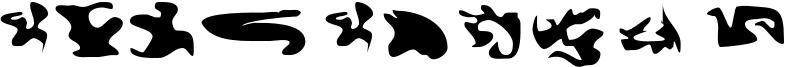 CISF Camouflage Kit Font