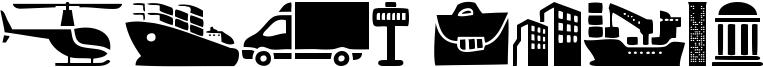 City Icons Font