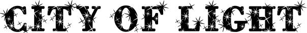 City of Light Font