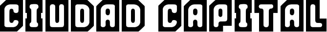 Ciudad Capital Font