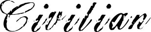 Civilian Font