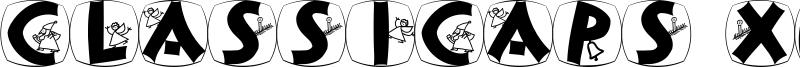 ClassiCaps Xmas Font