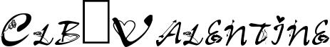 Clb:Valentine Font