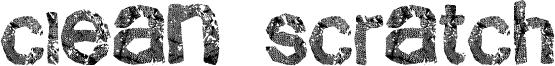 Clean Scratch Font