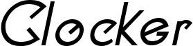 Clocker Bold Italic.ttf