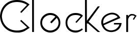 Clocker Font