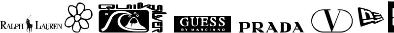 Clothing Logos TFB Font