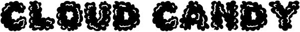 Cloud Candy Font