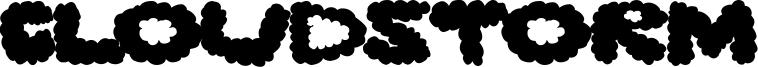 Cloudstorm Font