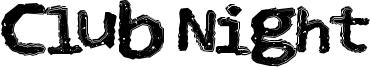 Club Night Font