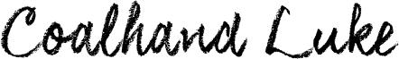 Coalhand Luke Font