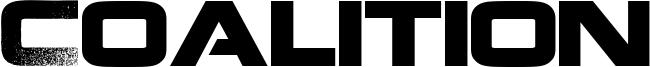 Coalition Font