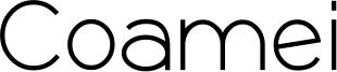 Coamei Font