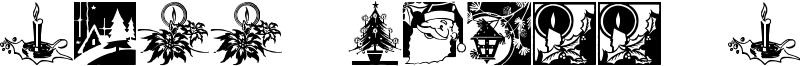Cobb Shinn Christmas Cuts Font