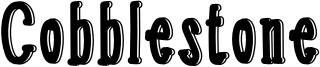 Cobblestone Font
