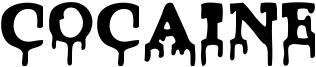 Cocaine Font
