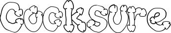 Cocksure Font