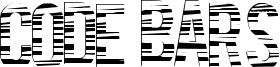 Code Bars Font
