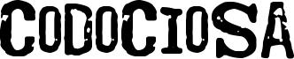 Codociosa Font