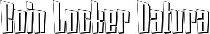 Coin Locker Datura Font