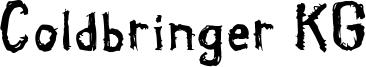 Coldbringer KG Font