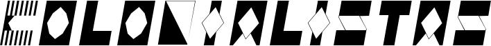 Colonialistas Font