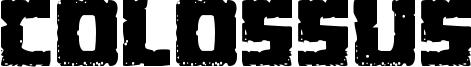 Colossus Font