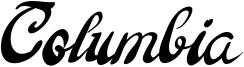 Columbia Font