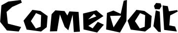 Comedoit Font