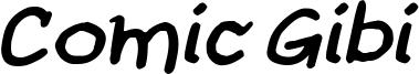 Comic Gibi Bold Italic.ttf