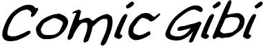 Comic Gibi Italic.ttf